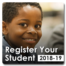 2018-2019 School registration is now open. Register your student now.