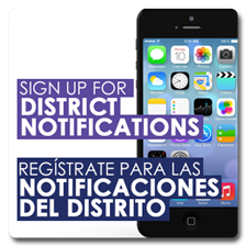 Sign up for District Notifications