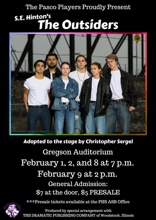 Pasco High Players Present: The Outsiders