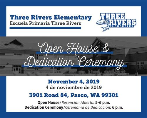 Three Rivers Dedication