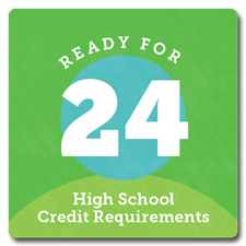 Ready for 24. High School Credit Requirements/