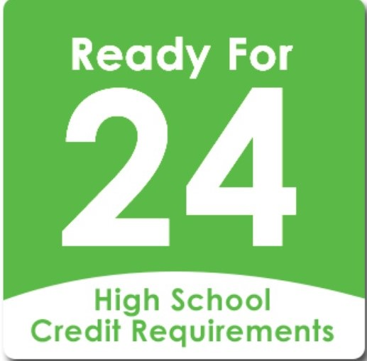 Ready For 24  High School Credit Requirements