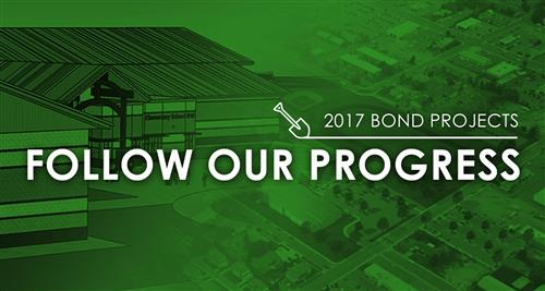 Follow the progress of the 2017 bond projects.