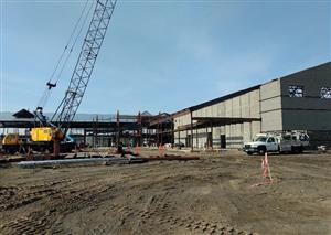 Columbia River Elementary construction