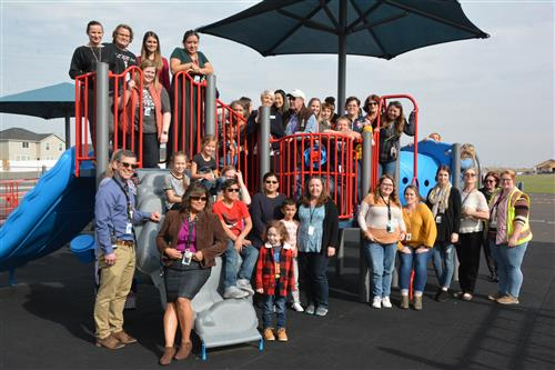 Inclusive Playground at Three Rivers Elementary
