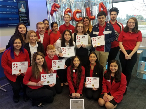 CHS FCCLA STUDENTS WITH AWARDS