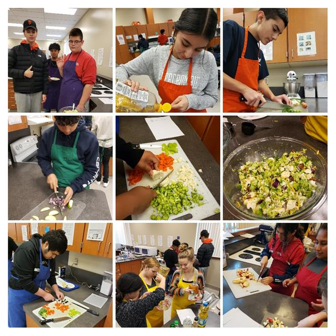 CTE FAMILY CONSUMER SCIENCE COOKING CLASSES