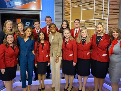 FCCLA STUDENT IS ON GOOD MORNING AMERICA