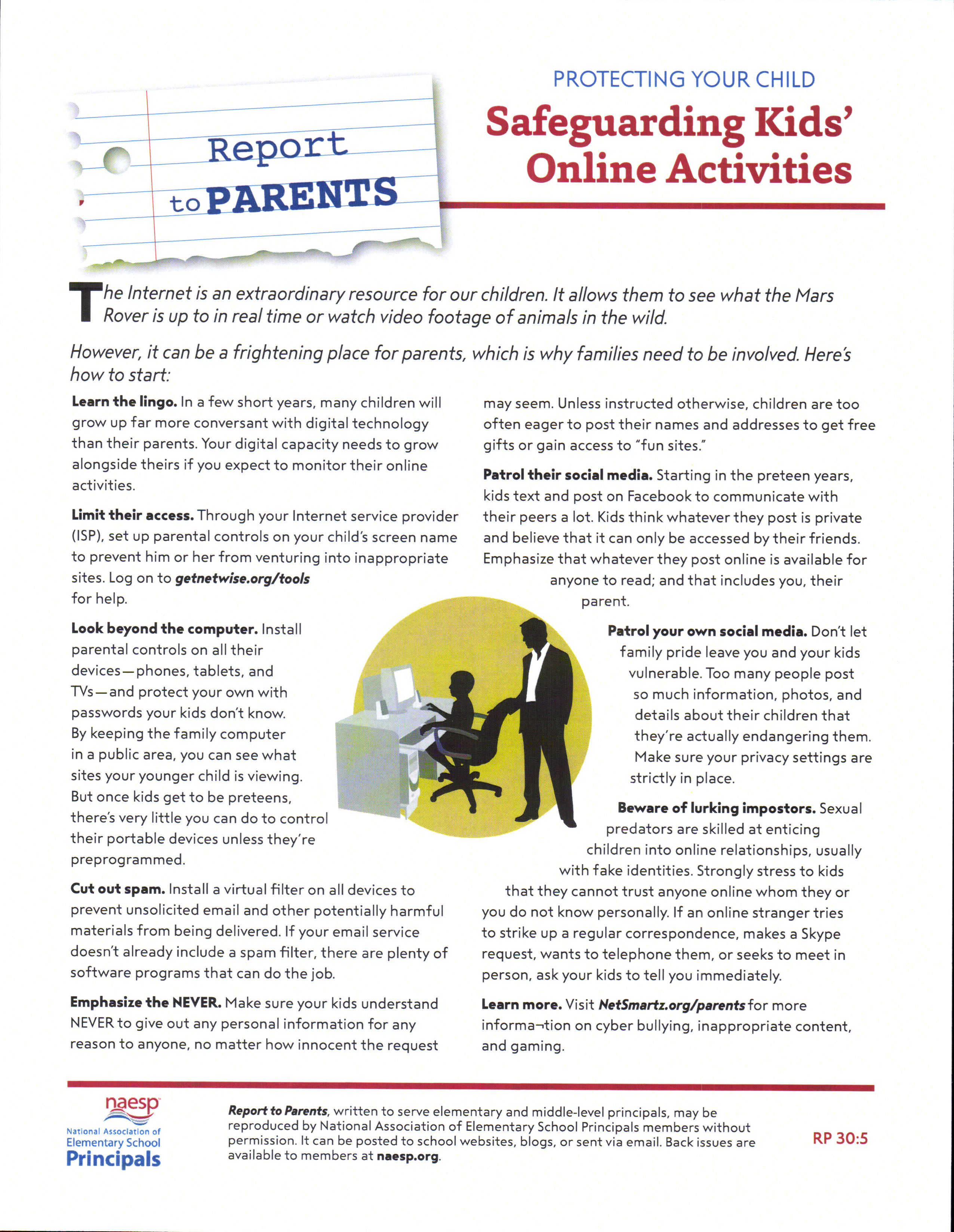 Safeguarding Kids Online Activities
